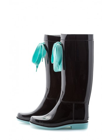 Wellies Black & Blue